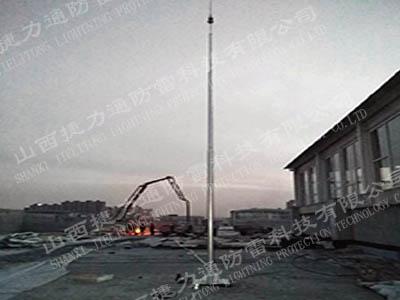 山西黎氏阁避雷针安装工程