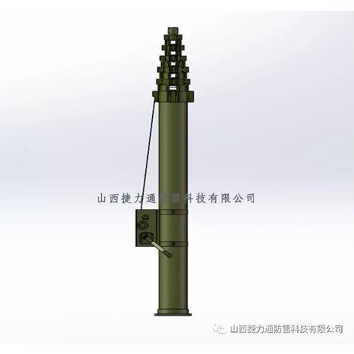 JLT-2-15型碳纤维手动升降杆