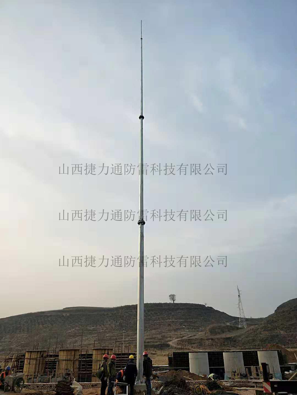 新疆哈密市变电站安装GH系列避雷针
