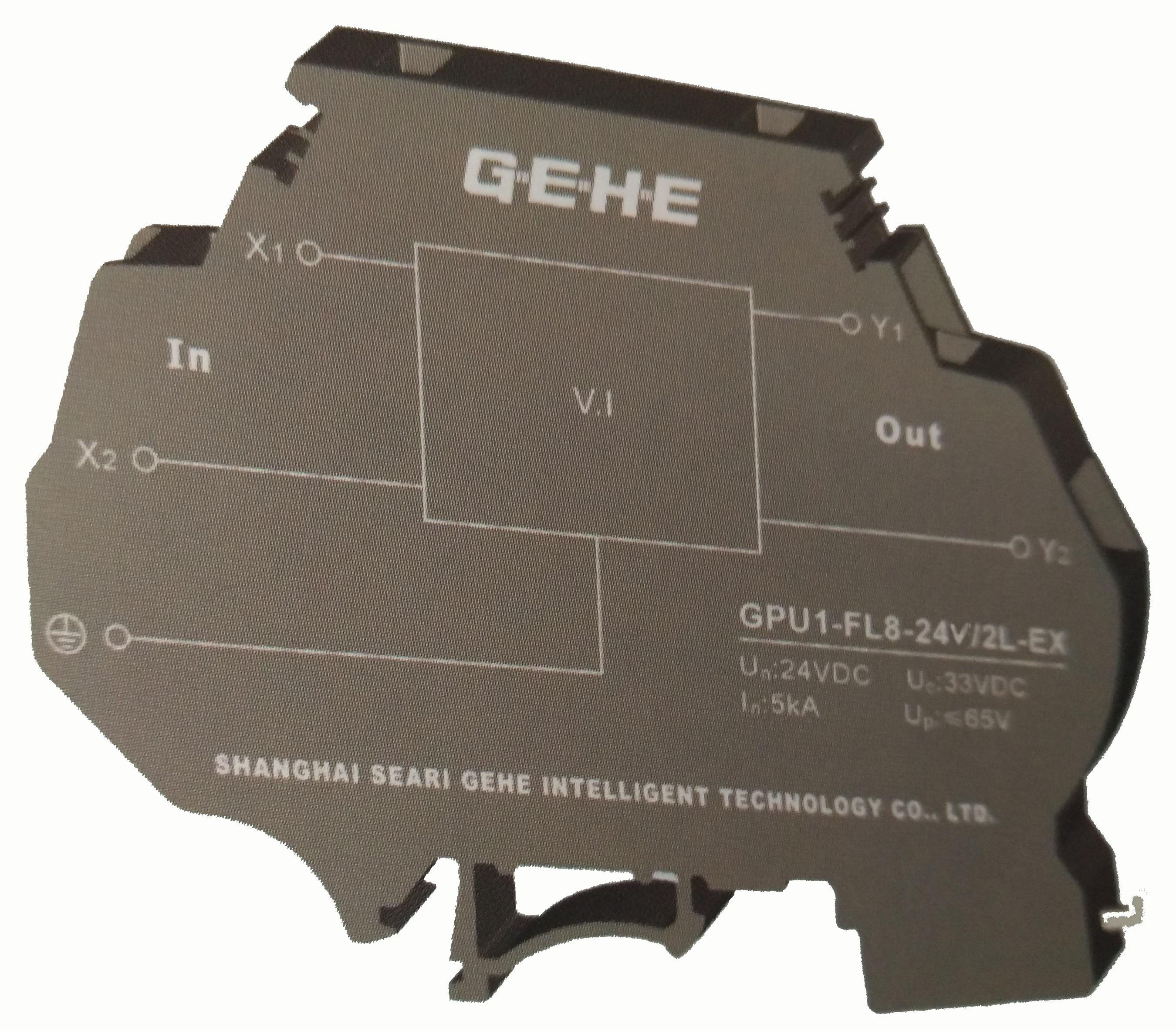 24V GPU1-FL8/2L-EX系列电涌保护器