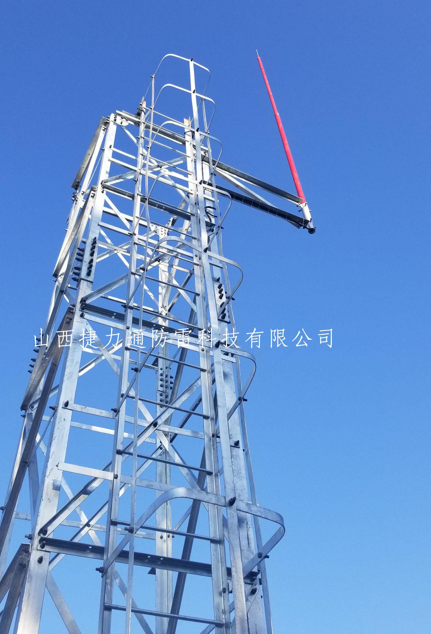 18米高强度雷达避雷针