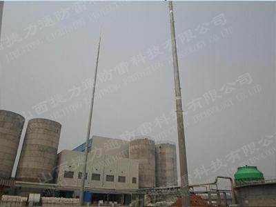 60米独立钢管避雷针