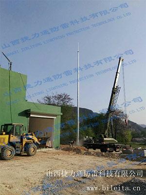 阳泉娘子关19米环形塔安装工程